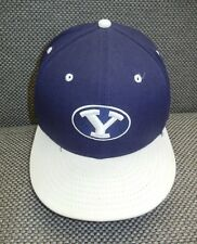 New Era BRIGHAM YOUNG BYU Football COLLEGE BASEBALL HAT Fitted Cap Sz 7 3/8