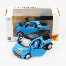 Benz Smart Fortwo Pickup 1:24 Scale Car Model Toy Vehicle Diecast Blue Gift Kids