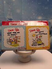 2 New DEAR GOD KIDS Children's Board Books by Anne Fitzgerald-Religious