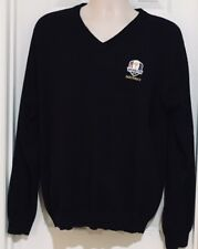 2012 Medinah Ryder Cup Pullover Long Sleeve Sweater Black PGA Golf European Win