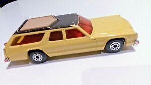 MATCHBOX SUPER KINGS Vintage 1978 Dodge Monaco Estate Toy Car Retro England
