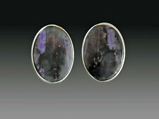 Sugilite Sterling Clip/Post Earrings Sale- Nwt Amy Kahn Russell