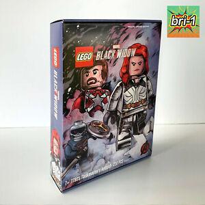 LEGO Marvel Avengers Black Widow SDCC, Taskmaster's Ambush 77905 RED GUARDIAN