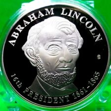 ABRAHAM LINCOLN DOLLAR TRIAL COIN PROOF