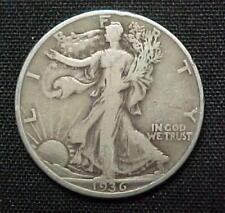 1936-D Liberty Walking 90% Silver Half Dollar nice fine circulated Condition