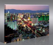 Las Vegas 1p Bild Bilder auf Leinwand Wandbild Poster