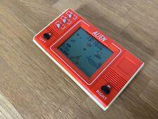 RARE MINI ARCADE ALIEN Années 1980 Vintage LCD Handheld Jeu Électronique-Superbe!