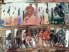 2002-03 Pacific Vanguard 1-136 With 36 Rookies + (4) Insert Sets