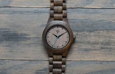 Wood Watch, black watch, Wooden watch,mens watch, handmade wristwatch