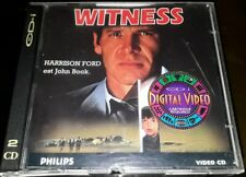 WITNESS TRES RARE FILM DOUBLE CDI INTERACTIF VIDEO CD