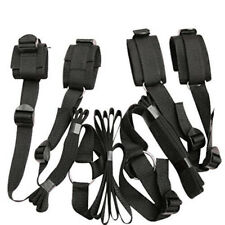 Under Bed Restraint System W/ Handcuffs & Anklet Restraint Bed Restraints Kit