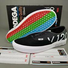 VANS Authentic x Bodega Blank Tape Skate Shoes Mens Size 10 Black White Red