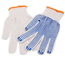 10pcs Cotton Knited Labour Work Gloves Unsex String Knit Safety Protective Glove