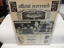 1974 Oldtimers Game Offical Scorecard New York Mets June 29th 13th Annual