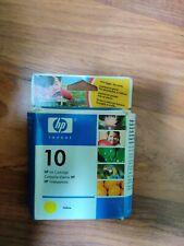 CARTUCCIA ORIGINALE HP 10 yellow NUOVA IMBALLATA SCADUTA c4842ae