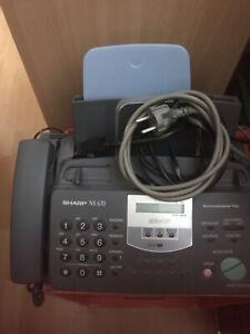 Normalpapier Fax mit Telefon Von Sharp NX 670 Defekt
