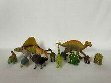 New listing Lot of 13 Plastic Toy Dinosaurs Multiple Brands Jurassic Park Collectibles