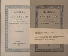 CASERTA E SAN LEUCIO descritti dall'architetto FERDINANDO PATTURELLI