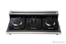 Flightcase Pioneer DJ per CDJ 350 e DJM 350 - Originale Logo Pioneer  Grigio