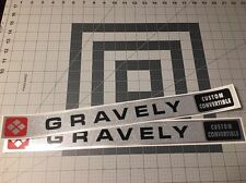 Gravely Custom Convertible Decal Set Of Two Walking Tractor 6.6-hp L8