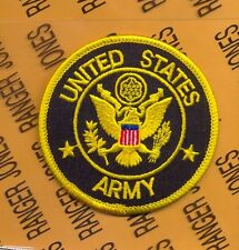 US UNITED STATES ARMY shield 3 inch pocket hat patch