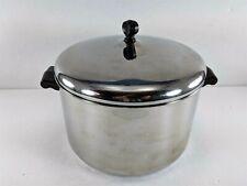 Farberware Vintage Stock Pot 8 Qt Quart Stainless Steel w/Lid USA