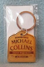 Michael Collins Irish Whiskey Metal Keychain, New