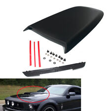 Car Front Hood Scoop Bonnet Vent Cover for FORD Mustang GT V8 05-14 Matte Black