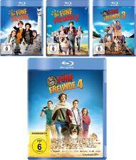 4 Blu-rays * FÜNF FREUNDE ~ KINOFILM 1 2 3 4 ~ 1 - 4 IM SET  # NEU OVP +