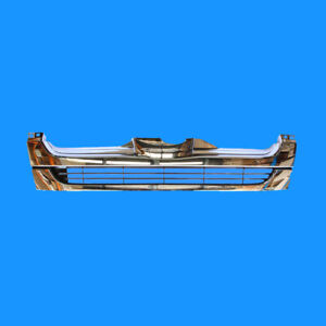 Front Grill For Toyota Hiace Low Roof Narrow Body LWB Chrome 9/2007 2008 2009 -