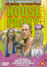 WWF EXTREME CHAMPIONSHIP WRESTLING HOUSE PARTY 98 DVD Original UK Release R2