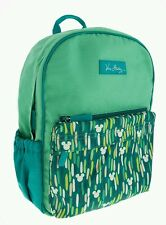 Disney Parks Mickey Showers Backpack VERA BRADLEY Multi Color Greens Mickey Head