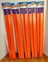 "Hot Wheels Mattel 5 Sets of 2/ 24"" Orange Tracks w/ Connectors w/ Free Gift NIP"