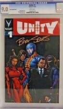 Unity #1 Sears variant CGC 9.0 Valiant CBCS PGX Ninjak Bloodshot Harbinger Turok