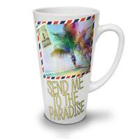 Summer Travel Sea NEW White Tea Coffee Latte Mug 12 17 oz | Wellcoda