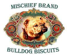 Mischief Brand Bulldog Tin & Cookies