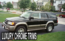 Toyota 4Runner Acier Inoxydable Chrome Pilier Poteau Par Luxury Trims 1996-2002