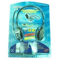 Omega HMP-05 Stereo Neck Over Ear Headphones & Microphone Headset Volume Control