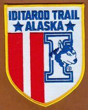Slitta cane Alaska Iditarod Musher HUSKY ricamate