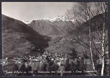 BRESCIA VEZZA D'OGLIO 08 VALLE CAMONICA Cartolina FOTOGRAFICA viaggiata 1965