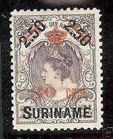 Suriname  nr 64   postfris (zg) luxe