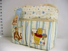 Disney Pooh Tiger Flowers Ivory Small Baby Diaper Bag