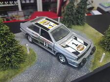 Matchbox Audi Quattro 1:40 #1 zilver