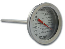 BRANNAN MEAT THERMOMETER 50MM DIAL ROASTING BBQ TURKEY STEAK COOKING - 23/472/2