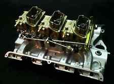 Ford SBF BBF Chevy SBC BBC 3x2 Tri Power Six Pack set of Holley carburetors