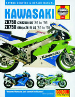 Kawasaki ZXR750 ZX750 Ninja ZX-7R 89-96 Haynes Manual