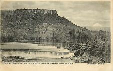 Vintage Postcard Table Rock and Tolo Falls From Gold Ray Mount Pitt Rogue River