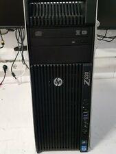 HP Z620, E5-2640, 16 GB, Nvidia Quadro 4000, 250 GB SSD, 500 GB HDD