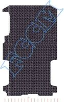 RENAULT TRAFIC / VAUXHALL VIVARO REAR SECTION 2014> LWB RUBBER MAT, BOT TAILORED