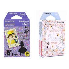 Disney Alice FujiFilm Fuji Instax Mini Film Polaroid 20 Instant Photos Value Set